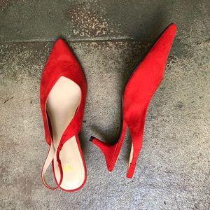 H&M Slingback Kitten Heel